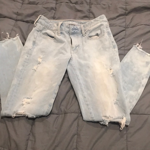 American Eagle Outfitters Denim - American Eagle Stonewashed Jeans